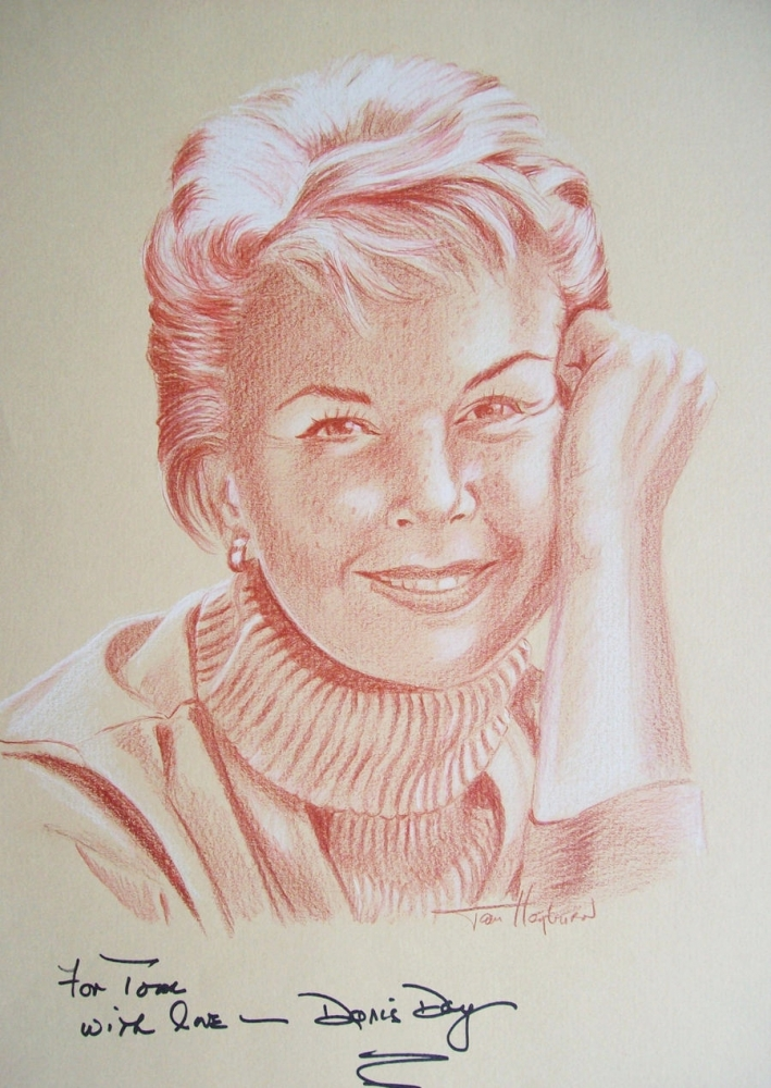 Doris Day by Tom-Heyburn
